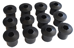 1949-51 Mercury Car, Rear Leaf Spring Bushing Kit, Polyurethane