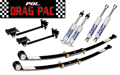 1963-76 Dodge Dart Demon Drag Pac Suspension Kit