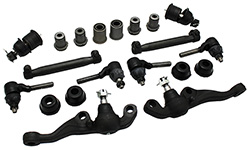 1970-74 Mopar E-Body Front Suspension Rebuild Kit, Rubber Bushings