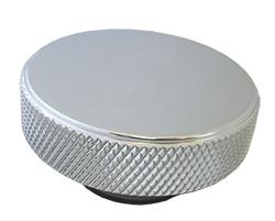 Radiator Cap, Billet Aluminum, Knurled Edge, 16lbs