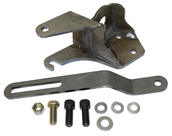 1955-57 Chevy Belair and 1955-59 Chevy Truck Power Steering Pump Bracket Kit, Front Motor Mount