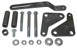 Power Steering Pump Bracket Kit, Big Block Chevy Engine, Plain Steel