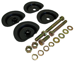 1960-72 Chevy C10, C20 Truck, Coil Spring Retainer Cup Kit, Rear