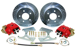 "Rear Disc Brake Conversion Kit, 1978-88 GM G-Body, 11"" Rotors"
