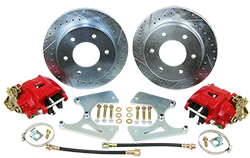 1960-62 Chevy C10 Truck Rear Disc Brake Conversion Kit, 6 Lug