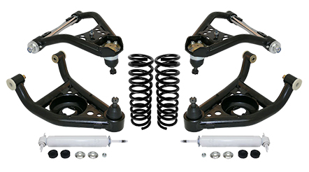 1967-69 Chevy Camaro and Pontiac Firebird Stage 3 Tubular Control Arm Suspension Kit 19315