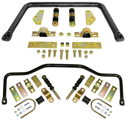 1947-55 Chevy Truck Performance Anti Sway Bar Kit, Front and Rear