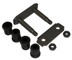 1949-54 CHEVY CAR, REAR LEAF SPRING SHACKLE KIT, EA