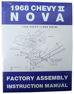 1968 CHEVY NOVA, CHEVY II FACTORY ASSEMBLY MANUAL