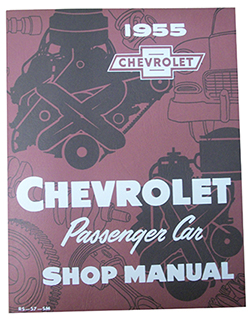 1955 CHEVY PASSENGER CAR FACTORY ASSEMBLY MANUAL