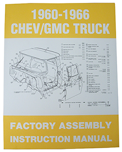 1960-66 CHEVY & GMC TRUCK FACTORY ASSEMBLY MANUAL