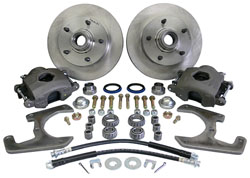 1937-48 Ford Car Front Disc Brake Conversion Kit, 5-Lug 19713