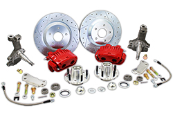 "1964-72 GM A F X Body Disc Brake Conversion Kit, 13"" Rotors, 2"" Drop Spindles, Fits Chevy Chevelle"