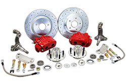 "1962-67 GM X Body Disc Brake Conversion Kit, 13"" Rotors, Fits Chevy Nova"