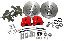 "1962-74 MOPAR Chrysler, Dodge, Plymouth Disc Brake Conversion Kit, 2"" Drop Spindles"