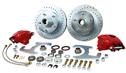 1948-56 Ford F-1 and F-100 Truck Front Disc Brake Conversion Wheel Kit