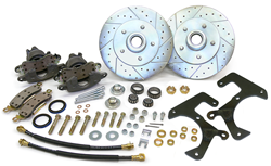 1957-64 Ford F-100 Truck, Front Disc Brake Conversion Wheel Kit