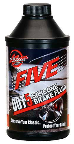 Wilwood FIVE Silicone Brake Fluid - DOT 5