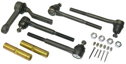 1963-87 Chevy C-10 Truck High Performance Tie Rod and Idler Arm Kit For Tubular Control Arms