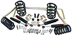 1964-77 GM A-BODY, Stage 2 Suspension Kits, Coil Springs (Front & Rear)