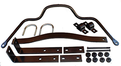 1949-51 Ford Car Sway Bar Kit, High Performance, Rear