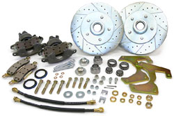 1947-59 CHEVY TRUCK DISC BRAKE WHEEL CONVERSION KIT, 5-LUG (WBK5-4759) 16777
