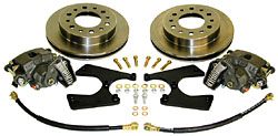 1951-59 CHEVY TRUCK, REAR DISC BRAKE WHEEL KIT (RWBK-6-5159) 16782
