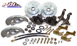 1967-69 Chevy Camaro Disc Brake Conversion Kit, OEM Spindles