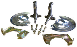 1967-69 Chevy Camaro Disc Brake Spindle Kit, OEM type GM car