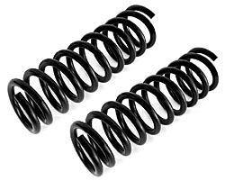 1967-69 Chevy Camaro and Pontiac Firebird Front Coil Spring Set, Stock Height or Lowered, Big Block