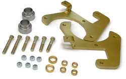 49-54 CHEVY FULL SIZE CAR, DISC BRAKE CONVERSION KIT, LG. GM CALIPER (DB4954)