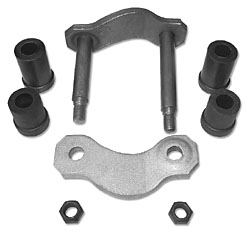 1955-57 CHEVY BELAIR LEAF SPRING SHACKLE KIT, REAR