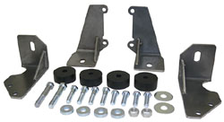 1955-57 Chevy Belair Turbo Transmission Side Mount Conversion Kit
