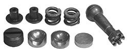 1958-62 CHEVY IMPALA/BELAIR/BISCAYNE, MANUAL STEERING CENTER LINK REPAIR KIT (CLRK5862)
