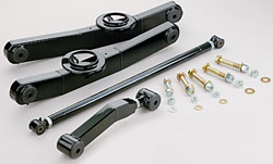1959-64 Chevy Impala, Full Size Car, Rear Tubular Control Arm Kit, Single Adjustable Upper