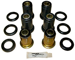 1959-64 Chevy Impala, Belair, Biscayne, Rear Suspension Control Arm Bushing Kit, OEM RUBBER