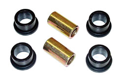 1965-70 CHEVY FULL SIZE CAR, TRAC BAR BUSHING KIT, POLY URETHANE