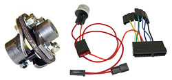 1965-66 Chevy Impala Steering Column Install Kit, Power Steering Gear Box, 800 Series