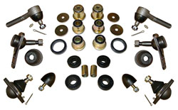 1975-79 Chevy 2 Nova, Pontiac Tempest, Front Suspension Rebuild Kit, Economy Rubber