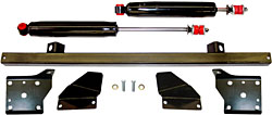 1968-74 Chevy Nova, Pontiac Tempest Shock Relocation Kit, Rear