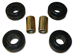 1963-74 Mopar A-body, B-body or E-body, FRONT STRUT ROD BUSHINGS KIT (POLY)