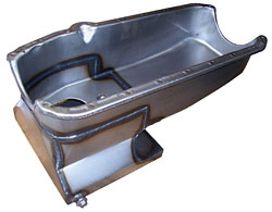 1962-67 CHEVY II/NOVA, LOW PROFILE 6 QT OIL PAN (POL7480X)