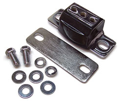 CHROME TRANSMISSION MOUNT (EACH)(3-1108C)