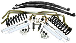 1955-57 Chevy Belair, Suspension Kit, Stage 2 with Coil Springs and Leaf Springs