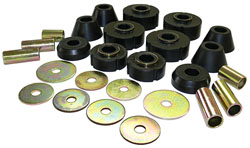 1963-66 Chevy C10 Truck Cab Mount Bushing Kit, Poly Urethane