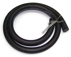 Power Brake Booster Vacuum Hose, Rubber 18181