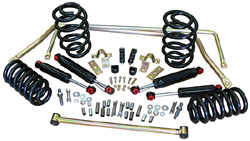 63-72 CHEVY/GMC TRUCK, Stage 2 Suspension Kits, Coil Springs (Front & Rear)