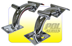 1963-72 Chevy Truck and GMC Truck Chrome Tubular V-8 Engine Mount Brackets 18818