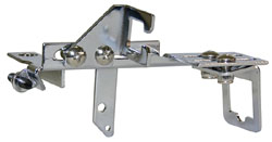 Throttle Cable Bracket, Chrome