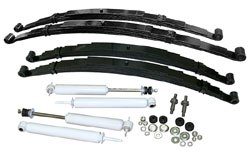 1948-64 FORD F-1 & F-100 TRUCK, STAGE 1 SUSPENSION KIT, MULTI LEAF SPRINGS (FRONT & REAR)
